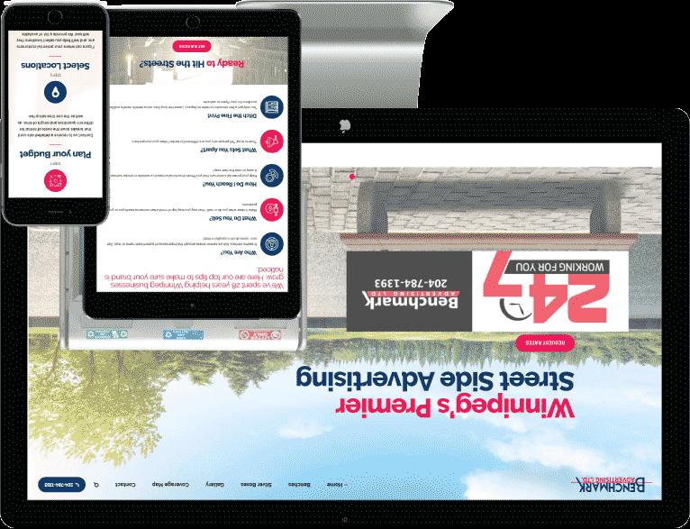 web design Belleville case study two