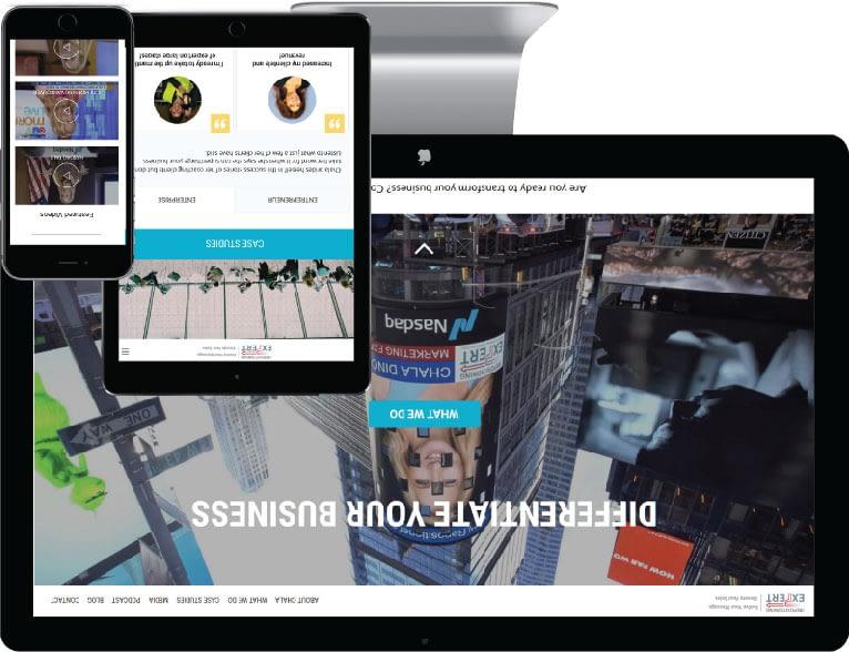 web design Niagara case study one