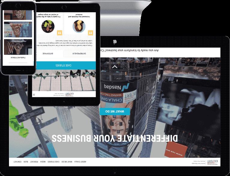 wordpress website design case study one
