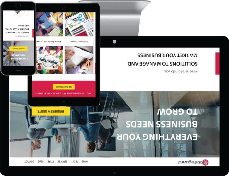 web design Niagara case study three