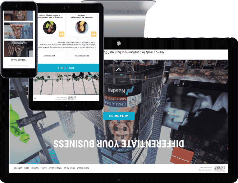 web design Waterloo case study one